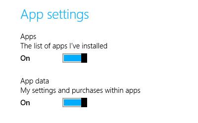 App data backup
