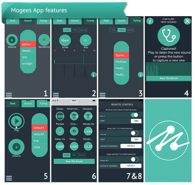 The Mogees app - Mogees turns everyday objects into musical instruments with a sensor and a smartphone
