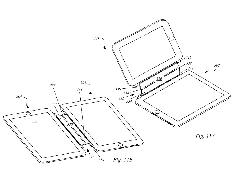 Apple patents a magnet structure for the iPad, which will ...