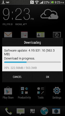 Android 4.4.2 Update