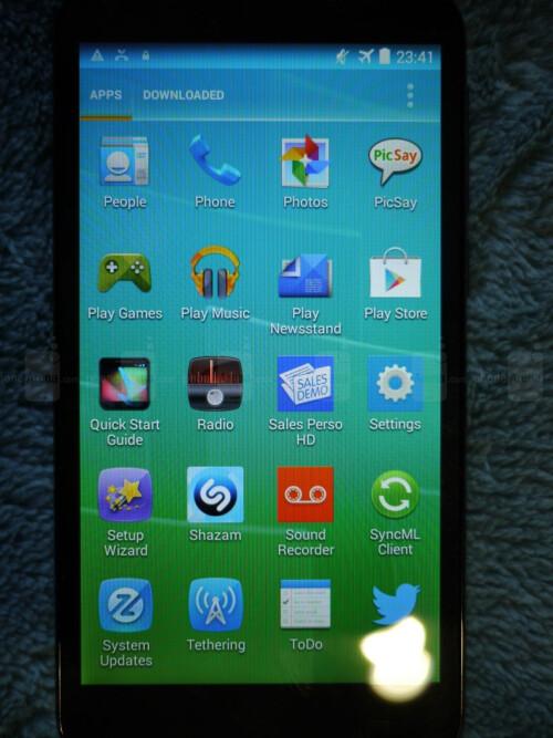 Alcatel OneTouch Pop S7 screenshots