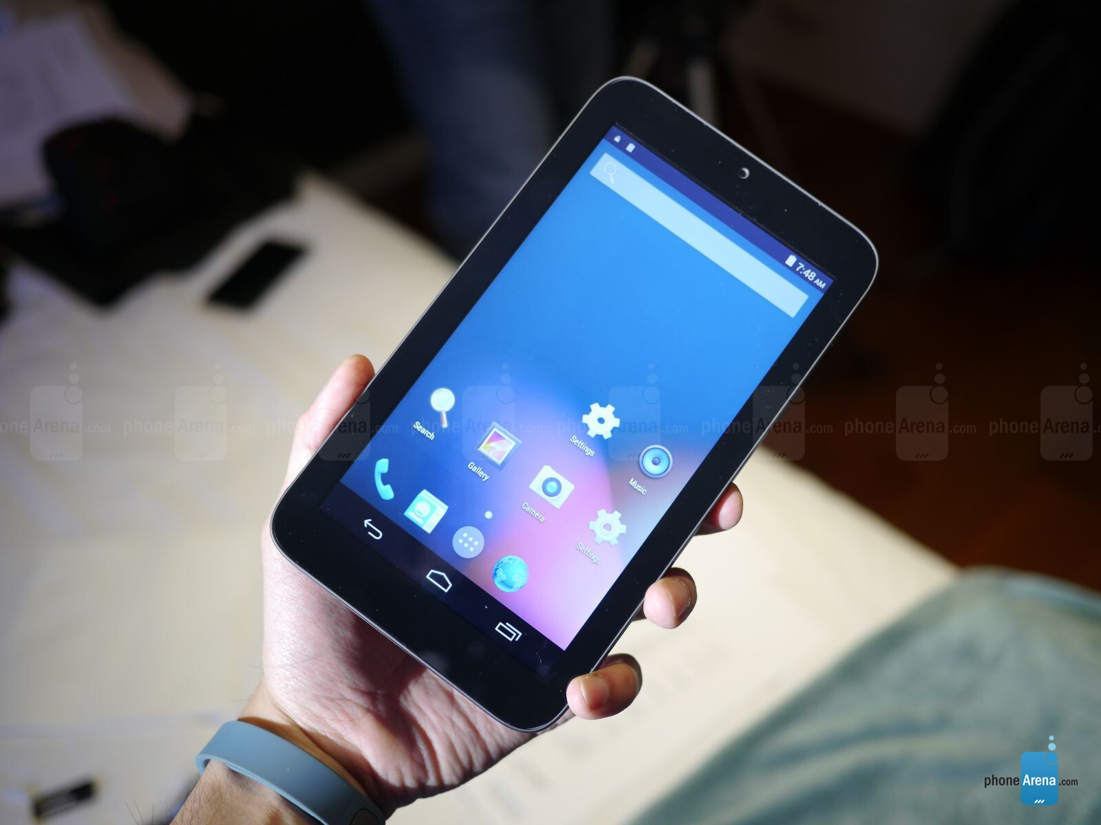 Alcatel Onetouch Pixi 7 Hands On Android Tablet On The