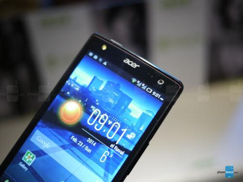 Acer Liquid E3 hands-on