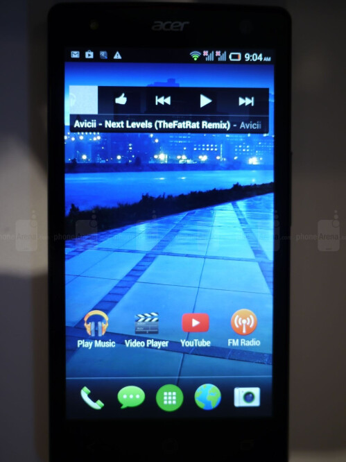 Acer Liquid E3 screenshots