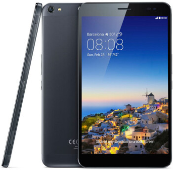 """Huawei unveils MediaPad X1 - the lightest 7"""" tablet doubles as a phone, has huge 5000 mAh battery"""