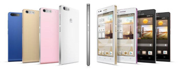 Huawei's P6-inspired Ascend G6 unveiled with 4.5'' qHD display, quad-core processor and 4G LTE