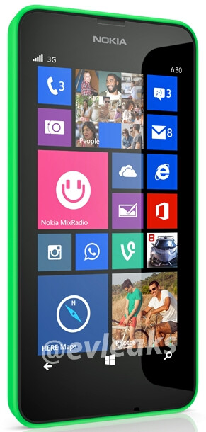 Nokia Lumia 630 press photo leaks