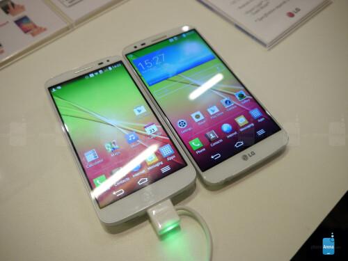 LG G2 mini vs LG G2: first look