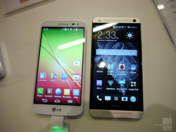 LG G2 mini vs HTC One: first look