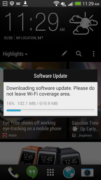 KitKat update for HTC One pushing to AT&T customers now