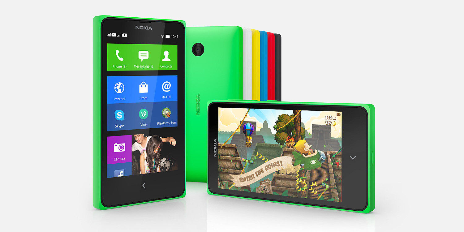 Nokia X, the first Nokia Android smartphone, is now ...