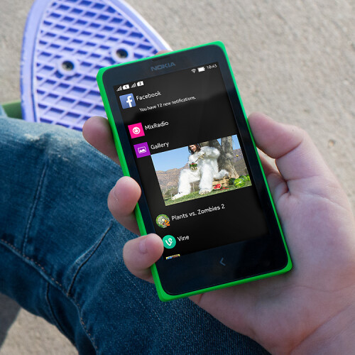 "Nokia X, the first Nokia Android smartphone, is now real: no Google Play, ""a gateway to Microsoft's cloud, not Google's"""
