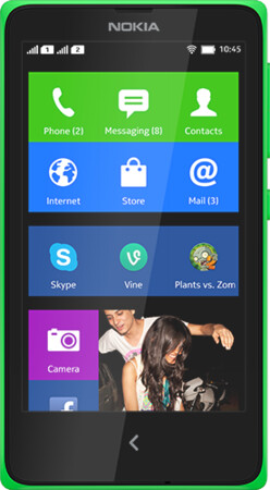 """Nokia X, the first Nokia Android smartphone, is now official: no Google Play, """"a gateway to Microsoft's cloud, not Google's"""""""