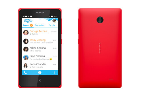 """Nokia X, the first Nokia Android smartphone, is now real: no Google Play, """"a gateway to Microsoft's cloud, not Google's"""""""