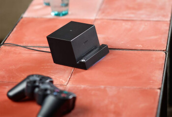 Sony's Bluetooth Speaker dock with Magnetic Charging Pad and DUALSHOCK3 wireless gamepad will go well with the Z2 Tablet