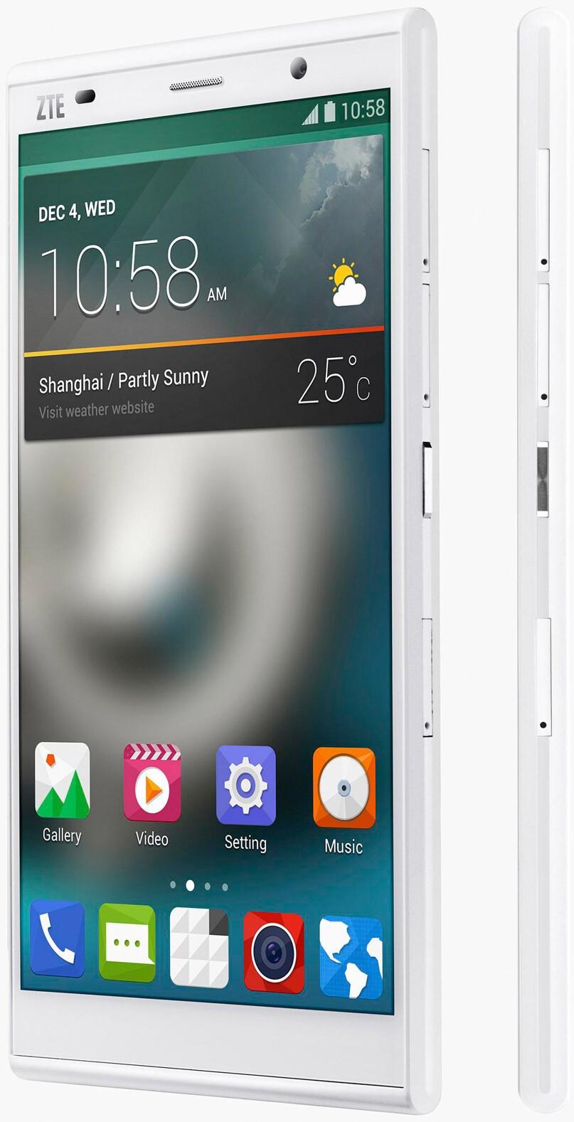 ZTE intros Grand Memo II LTE: Android 4.4 KitKat, 80% screen