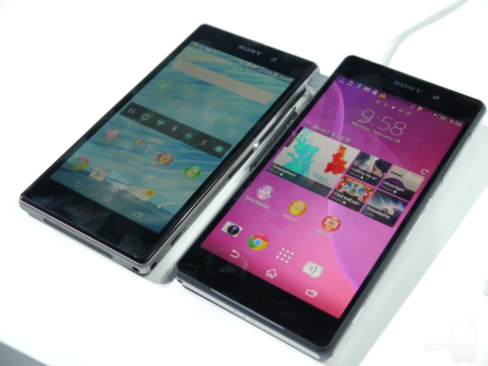 Sony Xperia Z2 vs Z1  first lookXperia Z1 Vs Xperia Z2