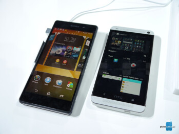 Sony Xperia Z2 vs HTC One: first look