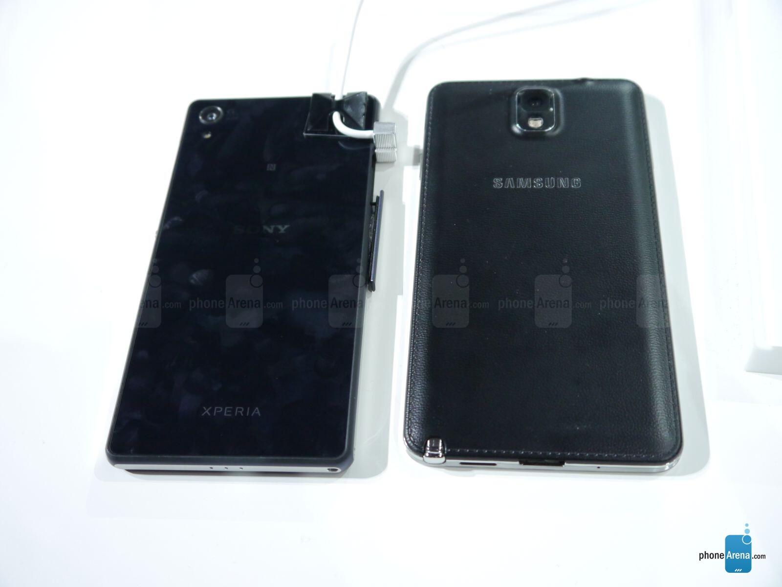Xperia Z2 Vs Note 3 Sony Xperia Z2 vs Samsung
