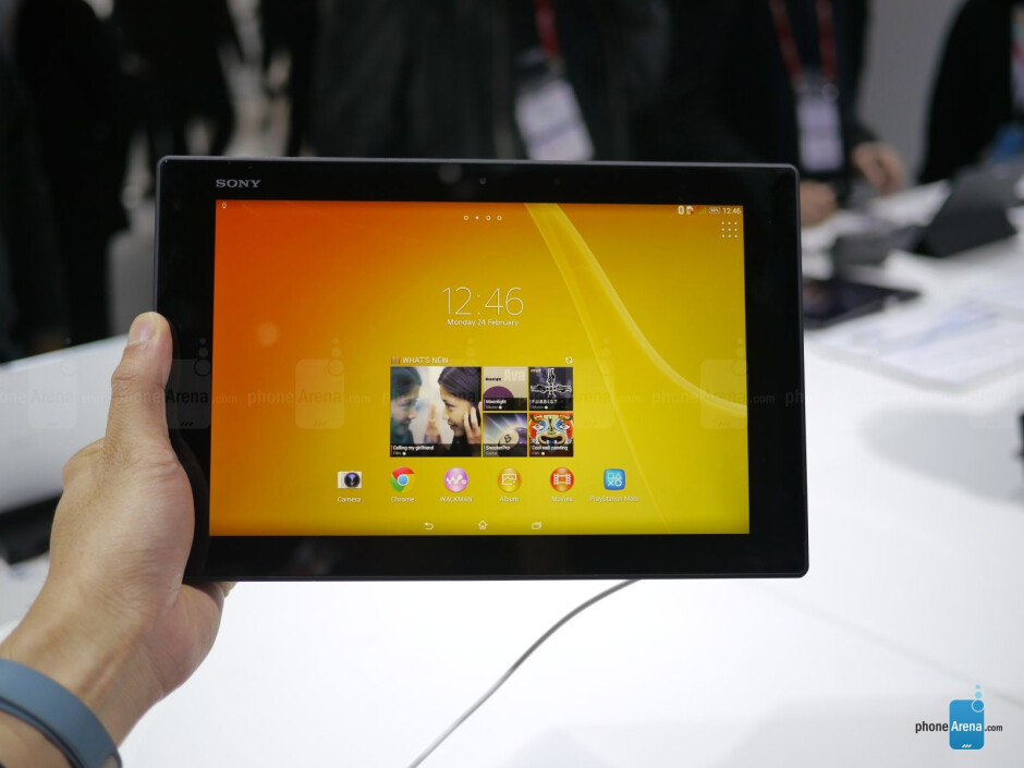 Sony Xperia Z2 Tablet hands-on