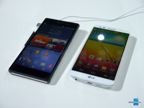 Sony Xperia Z2 vs Samsung Galaxy Note 3: first look
