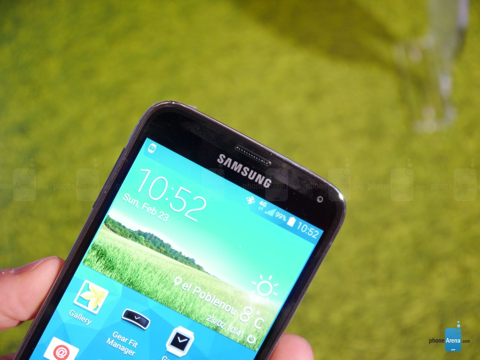 Samsung Galaxy s5 Hands on a