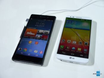 Sony Xperia Z2 vs LG G2: first look