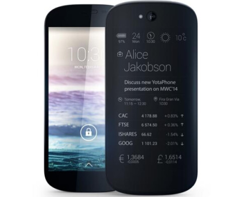 Second generation YotaPhone 2 prototype
