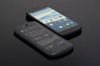 "Dual-screen YotaPhone 2 packs a 5"" 1080p screen up front and… e-ink display on the back"