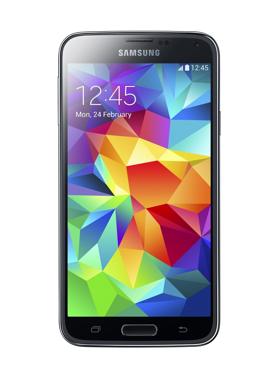 Samsung galaxy s5 unveiled - Waterproof Samsung Galaxy S5 Unveiled With A Heart Rate Sensor And Finger Scanner