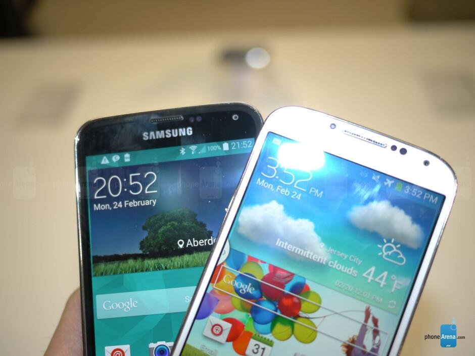 Samsung Galaxy S5 vs Galaxy S4: first look