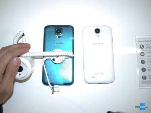 Galaxy S5 vs Galaxy S4