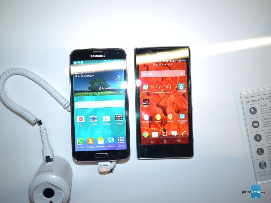 Samsung Galaxy S5 vs Sony Xperia Z1/Z1S: first look