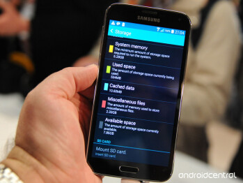 A 16GB Samsung Galaxy S5 will only give you half as available storage