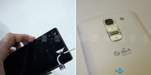 Sony Xperia Z2 vs LG G Pro 2