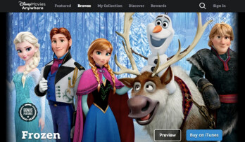 Disney Movies Anywhere will let you save Disney movies on your iOS device for offline viewing