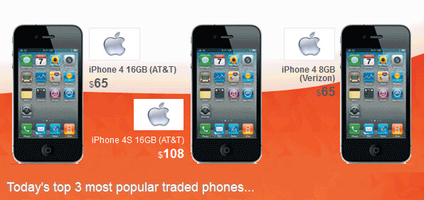 Trade-in prices for the Apple iPhone have been affected by the unveiling of the Samsung Galaxy S5 - Apple iPhone trade-ins surge prior to Samsung Galaxy S5 unveiling