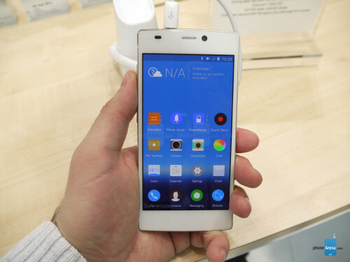 Gionee Elife S5.5: hands-on with the world's thinnest smartphone