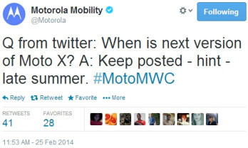 Next-gen Motorola Moto X to be launched in late summer, new Moto smartwatch also coming soon