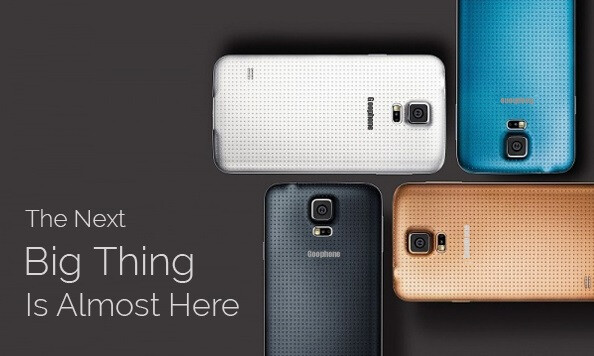 Samsung Galaxy S5 already copied to create the Goophone S5