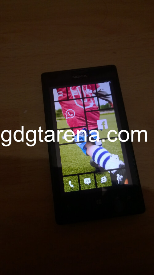 Windows Phone 8.1 Start Screen