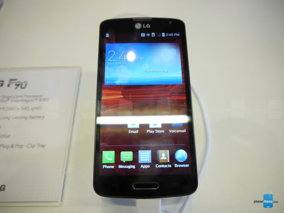 LG F90 hands-on: 4G LTE, huge battery and an affordable price