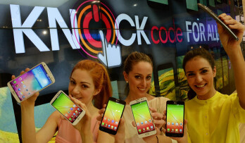LG says Knock Code will differentiate its affordable smartphones from the competition (including Huawei)