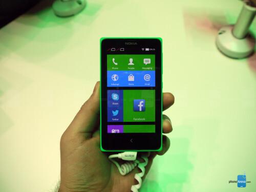 The Nokia X family