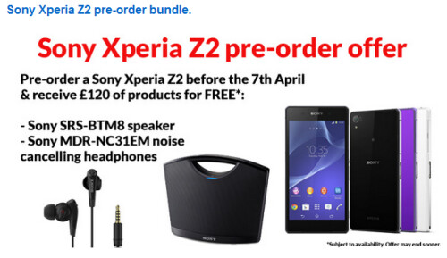 Clove offers special pre-order bundle for the Sony XperiaZ2