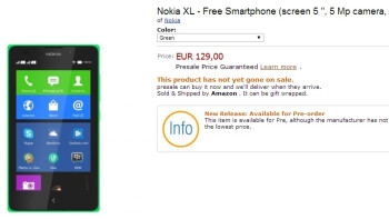 Nokia X+, Nokia XL, available for pre-order in Spain