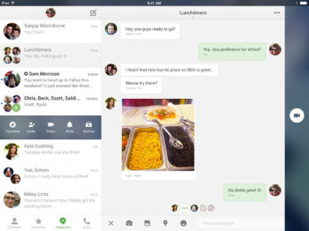 Google Hangouts v2 for iOS gets an iOS 7 redesign and iPad support