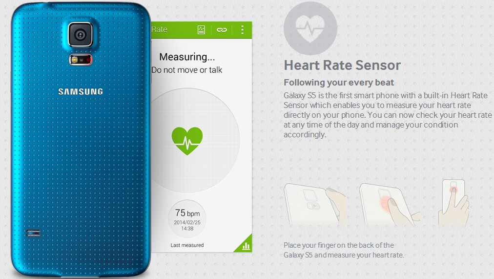 Samsung Galaxy S5 could be designated as