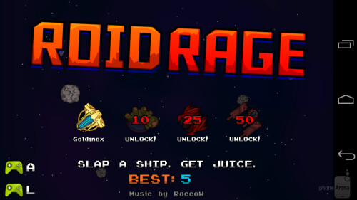 Roid Rage Android game review