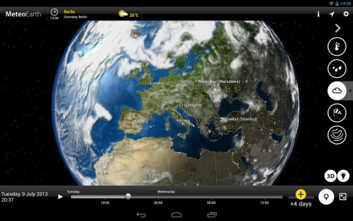 MeteoEarth - Android - $0.99 from $1.99